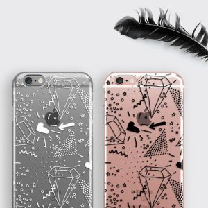 Diamond iPhone XS Case Memphis Design Print Patterned Samsung Galaxy S8 Cover