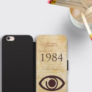 George Orwell Wallet Phone Case 1984 iPhone X Case