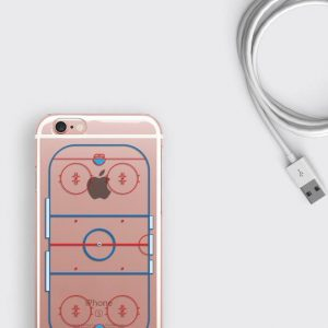 Ice Hockey Rink iPhone XS Max Case Hockey Samsung S9 Plus Cover, iPhone XR Case Hockey Player Gift iPhone 7 Clear Case iPhone 8 Plus Cover